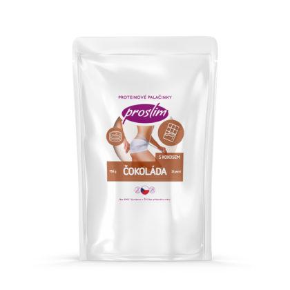 proteinové palačinky - čokoládové s kokosem