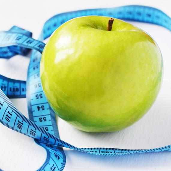 jablko hubnutí