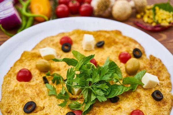 proteinová omeleta ve skutečnosti