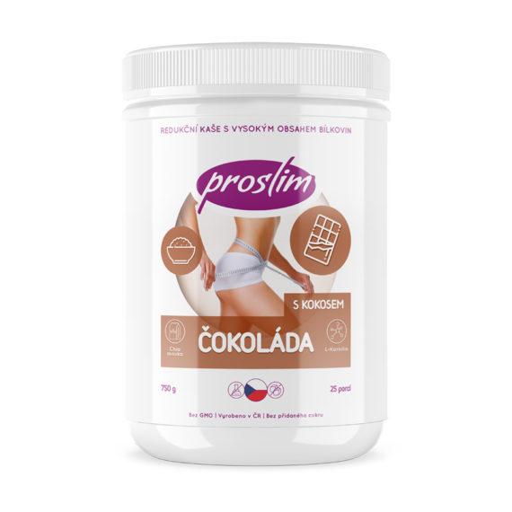Proteinová kaše - čokoláda s kokosem