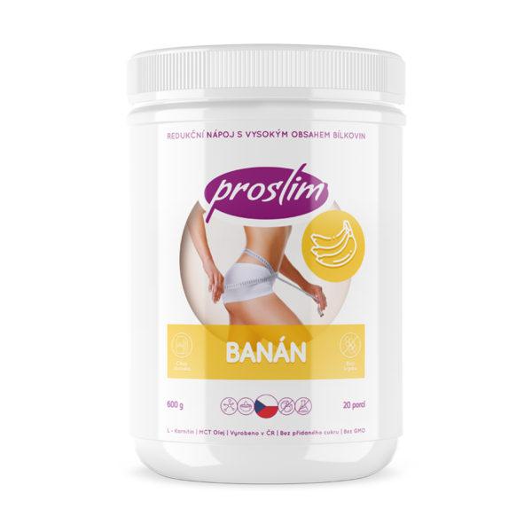 proteinový nápoj - koktejl - s příchutí banánu