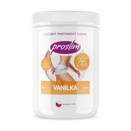 Proteinový puding - vanilka