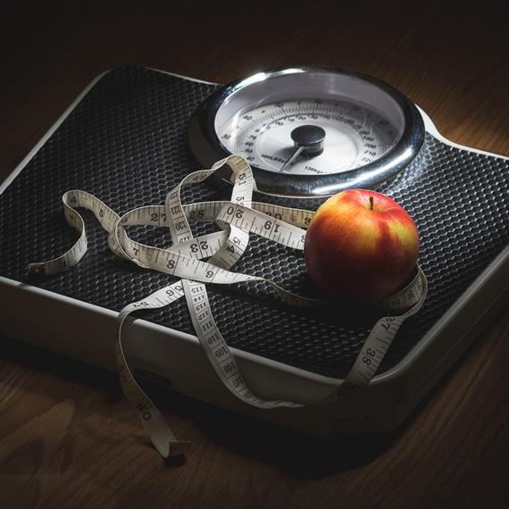 váha hubnutí