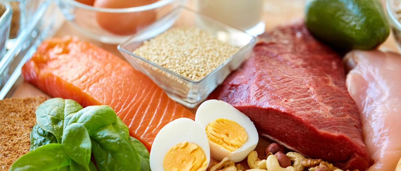 proteinová dieta - povolené potraviny
