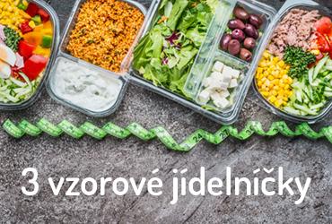 proteinová dieta - 3 vzorové jídelníčky