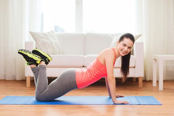 Cvičení v bílkovinové dietě