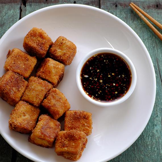křupavé tofu