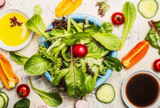dietní zálivky na salát