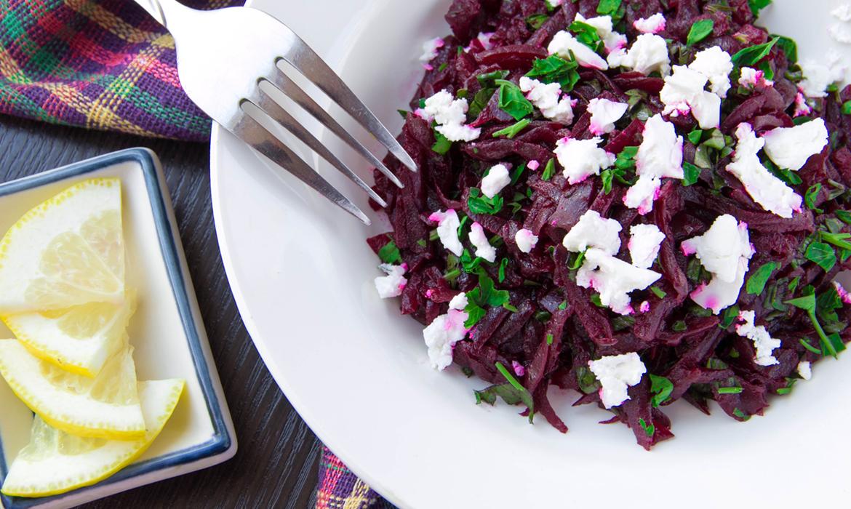 salát z červené řepy - recept